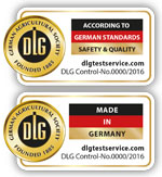 """Made in Germany"" und ""According to German Standards"" DLG TestService präsentiert neue internationale Qualitätsauszeichnungen"